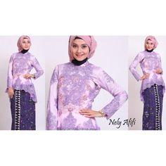 Kebaya modern brocade batik