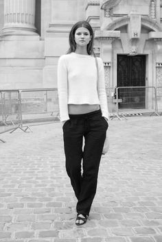 Kasia Struss Paris Couture Week fall12