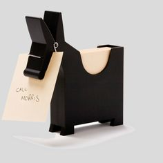 Morris the Donkey - Desktop Note Pad Dispenser » Petagadget