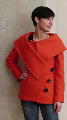 Manteau Vogue 8465 par Augustin - thread&needles