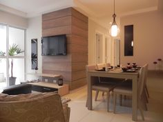Interior de um dos apartamentos do Residencial Santorini. Lindo!