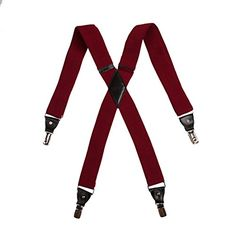 100 kr. (Spar 25 kr.) SP2016 Red Checkered Suspenders Beautiful Great For Men Hold-up X-back Leather International Gift Idea By Y&G Y&G http://www.amazon.co.uk/dp/B006BKYXYW/ref=cm_sw_r_pi_dp_N.B4wb0XF6PEV
