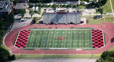 University of Guelph Alumni Stadium, - photo by peterkelly, via Flickr; UG Gryphons, Guelph, Ontario, Canada
