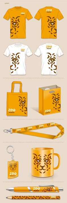 ZOO Płock_Corporate Identity by Łukasz Aleksandrowicz, via Behance