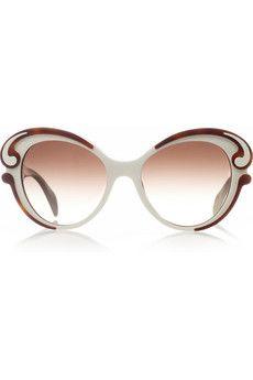 Prada - Butterfly-frame acetate sunglasses ef149c8eca81