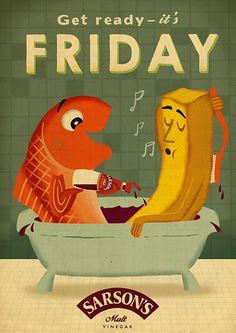 Get Ready It's Friday - Sarson's Vinegar