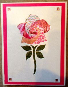 Rose Iris folding by Carolyn Michelsen