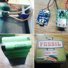 #powerbank #diy #arduino #raspberry Powerbank for Autonomic Power of Arduino and Raspberry Projects. Powered by 8 Panasonic #NCR18650 #lithiumion with 3400mAh = 27.2Ah Capacity on LiOn Side!!! by dansarduinos