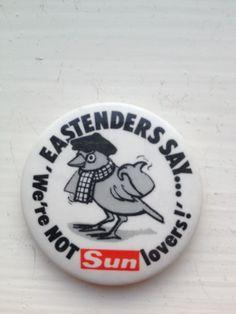 Eastenders say...
