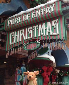 port of entry christmas shoppe orlando - (Entrada do Islands Adventure)