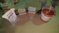 Polisport mekanik ve asit dayanımı yüksek turkcrete 300 poliüretan beton kaplaması.