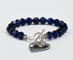 this bracelet is very DIY - look for findings & beads