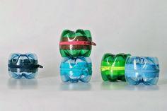 Cómo hacer monederos o lapiceros reciclando botellas pet - Manualidades Gratis