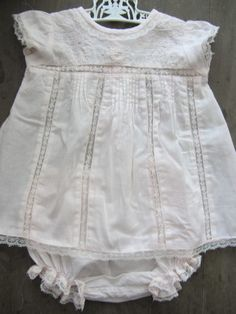 Zara Baby Soft Peach Lace Dress