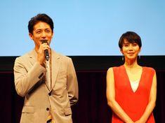TBS系金曜ドラマ『あなたには帰る家がある』特別試写会に出席した中谷美紀と玉木宏 (C)ORICON NewS inc.