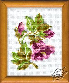 CROSS STITCH KITS - RIOLIS - Cross Stitch Kits - Flowers - Little Bellflower - Gvello Stitch