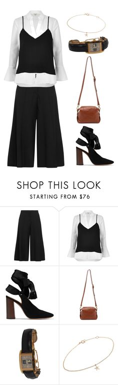 """""""///"""" by lunaashton ❤ liked on Polyvore featuring Vilshenko, River Island, Chloé, Madewell, Girard-Perregaux and Minor Obsessions"""