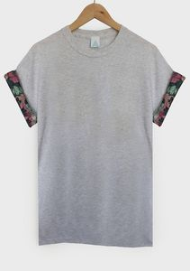 AND Winter Floral Sleeve Tee