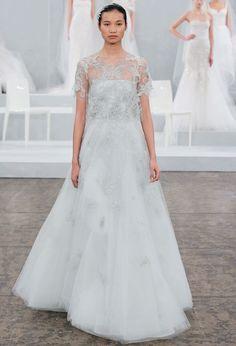 thời trang, xu hướng váy cưới xuân hè 2015
