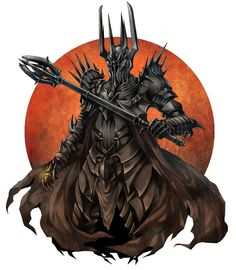 Sauron, the second dark lord of the Middle Earth.