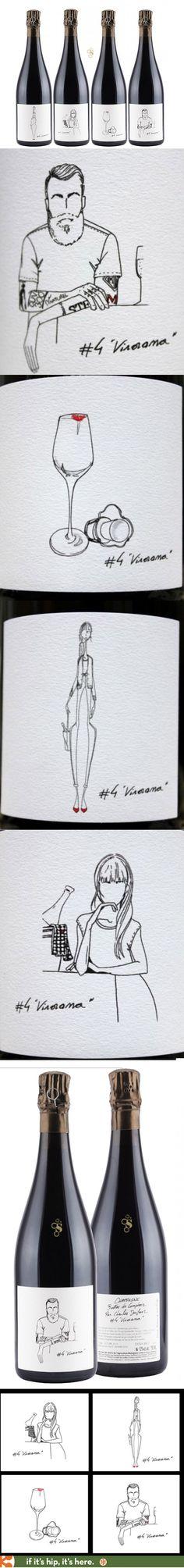 Charles Dufour's Bulles de Comptoir (extra brut champagne) Vinorama #4 series