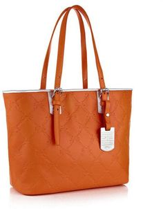 saucy Longchamp Lm Cuir Large Tote Orange Bag Leather Handbag Purse Logo  Only 1 NEW d5cabc3dc3