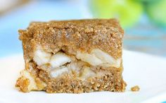 Hot Apple Crumble Bars from Chocolate Covered Katie