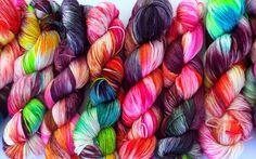 Mandala -  50% Superwash Merino 50% Silk - Sock