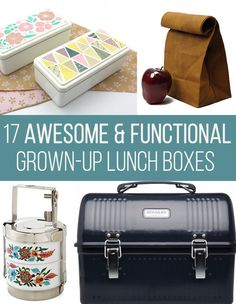 A reasonable resolution for 2016 is to start packing your own lunch. Having a lunchbox you love will make things easier. | 7 Ways To Eat Healthier Without Even Realizing