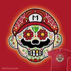 Dia De Los Marios...is it bad that I would so get this tattooed on me?