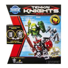 Tenkai Knights - Action Pack 10504 (Valorn/Bravenwolf/Guardian) | Multicitytoys.com  21 new from $13.20
