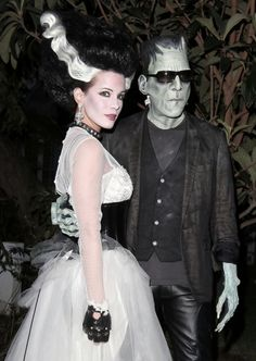Bride of Frankenstein Dress!                     Kate Beckinsale Bride of Frankenstein costume
