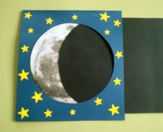 Representación de las fases de la Luna.2.                                                                                                                                                                                 Más Moon Activities, Space Activities, Science Activities, Science Projects, Activities For Kids, Space Projects, Space Crafts, School Projects, Projects For Kids