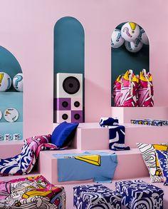 IKEA's new SPRIDD collection designed by British fashion designer Kit Neale.