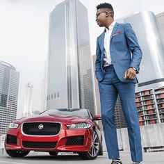 Had the amazing opportunity to partner with @GQ and @JaguarUSA to Road test and Review the new #JaguarXE   Click link in bio for full story.  #sponsored