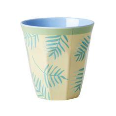 Rice DK Palm Leaves Print Melamine Cup - Vibrant Home