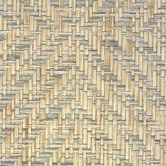 Phillip Jeffries Diamond Weave Mississippi Blue Wallpaper