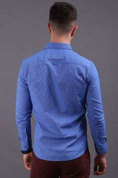 Reinvent your street style & office work clothing attire with this blue long sleeve button down shirt for men. When it comes to poor quality, a boring closet & an annoying fit, we feel your pain. Our men's apparel is perfect for those who enjoy looking classy while feeling powerful. Enjoy our large selection of guys simple trendy fashion wear for every day, weekend fun & business. Build your manly wardrobe easily with unique & preppy outfits. Buy now from Virgo Boutique! #menswearfashion Fashion Wear, Trendy Fashion, Mens Fashion, Smart Casual Work, Virgo Men, Weekend Fun, Preppy Outfits, Men's Apparel, Mens Clothing Styles