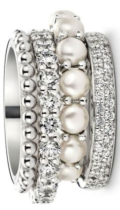 I Love Jewelry, Gems Jewelry, Jewelry Box, Jewelry Accessories, Jewelry Design, Fashion Rings, Fashion Jewelry, Boho Vintage, Bling