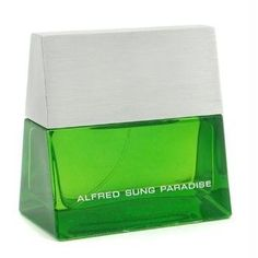 Alfred Sung ~ Paradise 3.4 oz Men Eau de toilette Spray by Alfred Sung. $14.46. Paradise Alfred Sung - EDT Spray 3.4 oz. Mens. Sung Paradise Cologne for Men 3.4 Eau De Toilette Spray This fashionable fragrance has a richly refined composition beginning with a crisp citrus top note entwined with bold natural aromatic notes of galbanum, laurel nobile, and petitgrain. The fresh scent of Sung Paradise is complemented by the vitality of warm woody scents of vetiver, sandal...