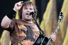 Jack Black also says 'Rize Of The Fenix' is superior to Foo Fighters, Tom Waits and Gotye's latest LPs Jacob Black, Santa Monica, Tenacious D, Greys Anatomy Memes, Judas Priest, Music Images, Jack White, Alternative Music, Foo Fighters