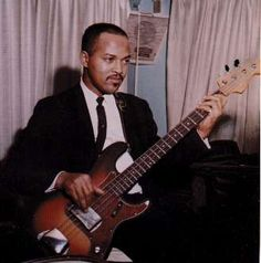 "James Jamerson - Funk Brother/Motown Bassist. The person who gave Motown its sound. AKA ""The Hook"""