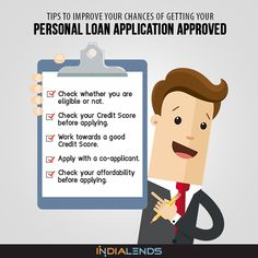 As a borrower, what can you do to increase your chances of getting an approval of your #PersonalLoan application? Read on to get one step closer to an optimal loan application. https://indialends.quora.com/Tips-to-Improve-Your-Chances-of-Getting-Your-Personal-Loan-Application-Approved