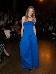 Pin for Later: Le Meilleur de la Fashion Week de New York Se Trouvait au Premier Rang Jaime King Au défilé Monse.