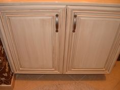 Change The Look Of Any Cabinet In Your Home With A Little Paint And Some Tea