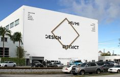 miami design district salutes 20 years of maison objet Mt Design, Urban Design, Design Miami, Signage Display, Signage Design, Miami Architecture, Architecture Design, Identity Development, Luxury Store