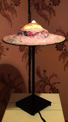 Lampshade/lampenkap Armille de l'Aventurière door MargrietThissen