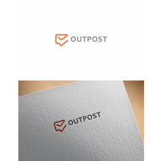 Outpost - Design a new logo for an email collaboration tool for small businesses. Outpost is a team email inbox for small and growing businesses. With Outpost, everyone can respond to customer email . Internet Logo, Modern Logo, Custom Logo Design, Logo Design Contest, Logo Inspiration, A Team, Collaboration, Design Art, Branding Design