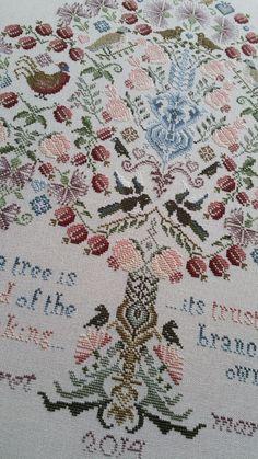 Kits par Maggie Gee Traditional transféré broderie kit de couture Summer Garden