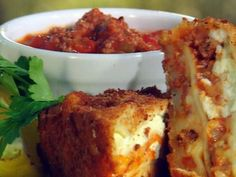 Lasagna | 23 Foods You Need To Deep-Fry Immediately  Deep fried lasagna? Yes please!